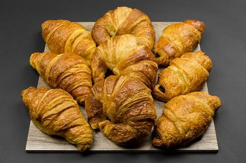 Sladké croissanty, 9 ks maslový