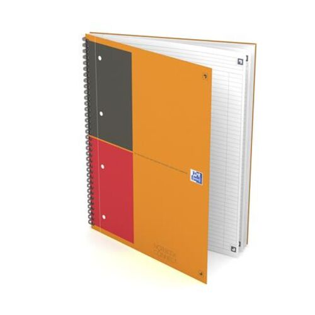 """Špirálový zošit, A4+, linajkový, 80 listov, OXFORD, """"International Notebook Connect"""""""