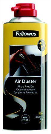Stlačený vzduch, bez HFC, horľavý, 520 ml/350 ml, FELLOWES