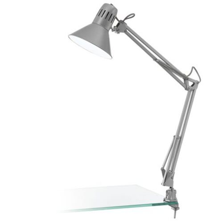 "Stolová lampa, 40 W, ""Firmo"", strieborná"