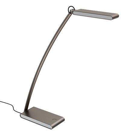 """Stolová lampa, LED, 4,8 W, ALBA """"Ledtouch"""", s USB portom"""