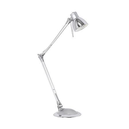 """Stolová lampa, LED 4W, """"Plano"""" strieborná"""