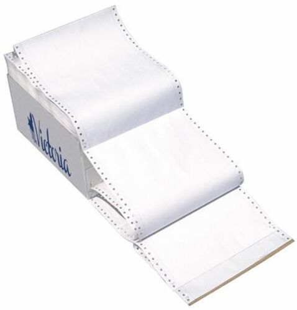 """Tabelačný papier, 240 mm, 12"""", 4 kópie, VICTORIA"""