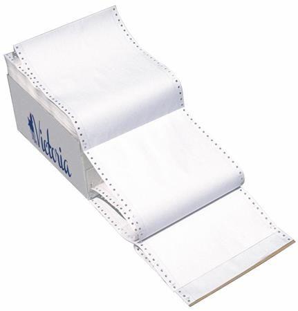 """Tabelačný papier, 382 mm, 12"""", 1 kópia, VICTORIA"""