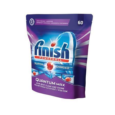 """Tablety do umývačky riadu, 60 ks, FINISH, """"Quantum Max"""""""