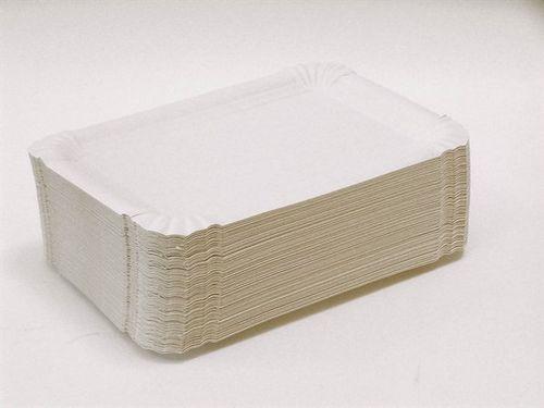 Tácka - papierová, hranatá, 10 x 16 cm