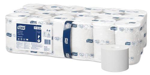 """Toaletný papier, bez vnútorného jadra, 1-vrstvový, mid-size, TORK """"Universal"""""""