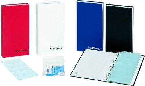 Vizitkár, 150 ks, krúžkový, DONAU, modrý
