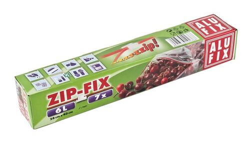 """Vrecká na zips """"Zipp Fix"""", 6 l, ALUFIX"""