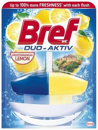 "WC čistiaci gél, 50 ml, BREF ""Duo Aktív"", citrus"