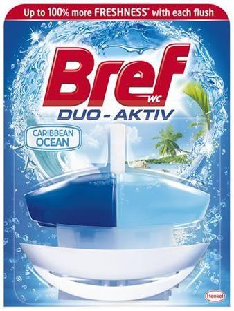"WC čistiaci gél, 50 ml, BREF ""Duo Aktív"", oceán"