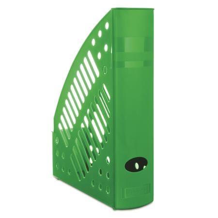 Zakladač, plastový, 70 mm, DONAU, zelený