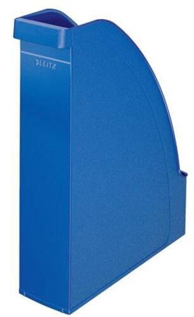 "Zakladač, plastový, 70 mm, LEITZ ""Plus"", modrá"