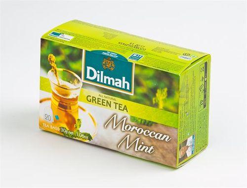 """Zelený čaj, 20x1,5g, s vôňou mäty """"Maroko"""""""