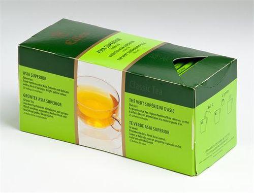 """Zelený čaj, 25x1,7g, EILLES """"Asia Superior"""""""