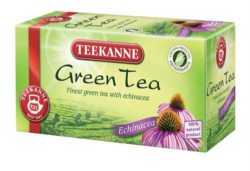 "Zelený čaj ""TeekanneGreen"", Echinacea, 35 g (20 x 1,75 g)"