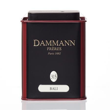 """Zelený čaj, v kovovej krabici, 90 g, DAMMANN, """"Bali"""" sypaný"""