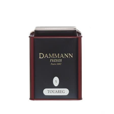 """Zelený čaj v kovovej krabici, 90 g, DAMMANN, """"Touareg"""" sypaný, mäta priepojná"""