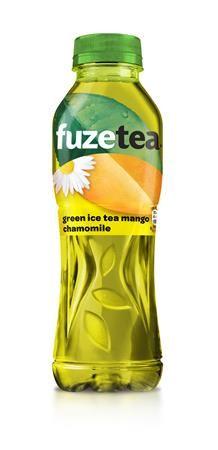 Zelený ľadový čaj, 0,5 l, FUZE TEA, mango-harmanček