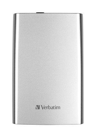 """2,5"""" HDD (pevný disk), 1TB, USB 3.0, VERBATIM, strieborný"""