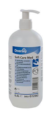 """Antibakteriálny gél na ruky, s alkoholom, 500 ml, """"Soft Care Med"""""""