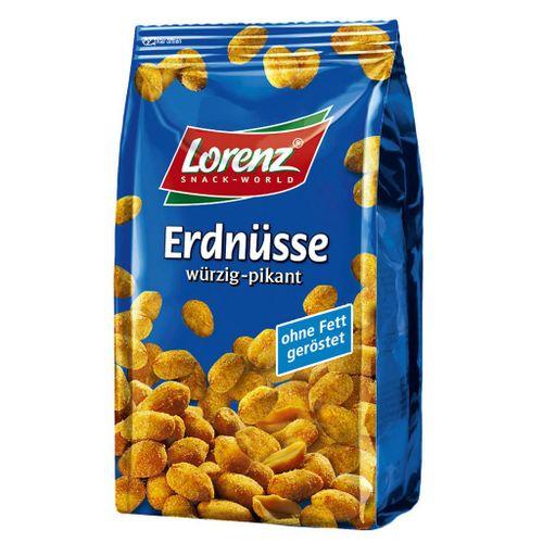 Arašidy korenené, pikantné Lorenz 150 g
