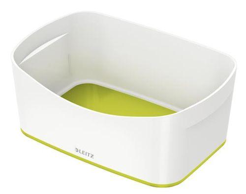 """Archivačná krabica, LEITZ """"MyBox"""", biela-zelená"""