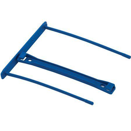 Archívna spona, plastová, modrá, 100 mm, FELLOWES