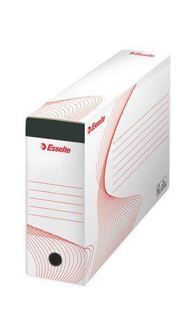 """Archívny box, na závesné zakladacie dosky, 117 mm, recyklovaný kartón, ESSELTE """"Standard"""""""