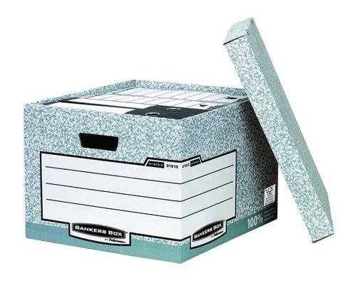 """Archívny kontajner, kartónový, veľký, """"BANKERS BOX® SYSTEM by FELLOWES®"""""""