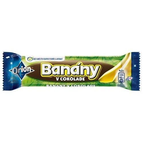 Banan v cokolade 50g