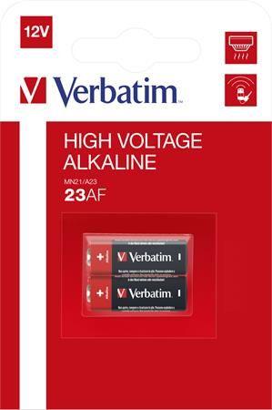 """Batéria, 23AE/MN21/A23, 2 ks, VERBATIM """"Premium"""""""