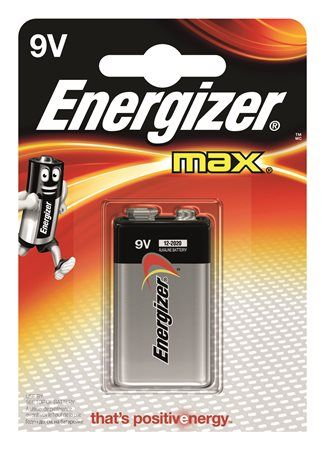 "Batéria, 9V, 1 ks, ENERGIZER ""Max"""