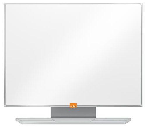 """Biela tabuľa, smaltovaná, 90x120 cm, hliníkový rám, NOBO """"Prestige"""""""