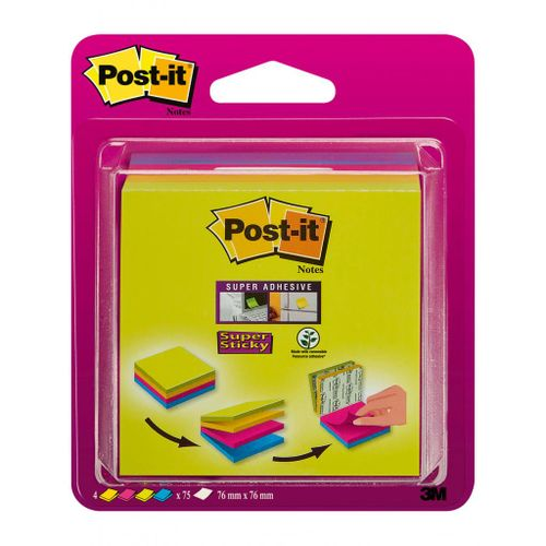 Bločky Post-it Smart cube 4x75 listov