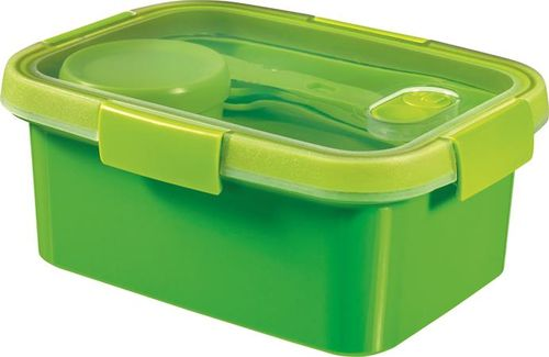 """Box na obed, s príborom, 1,2 l, CURVER, """"Smart to go"""", zelená"""