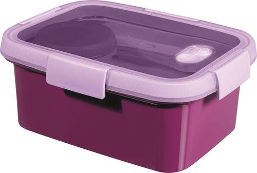 """Box na obed, s príborom, 1,2l, CURVER, """"Smart to go"""", fialová"""