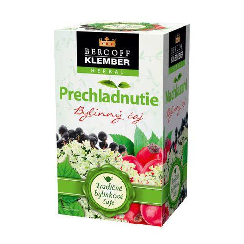 Čaj Klember bylinný Prechladnutie 30g