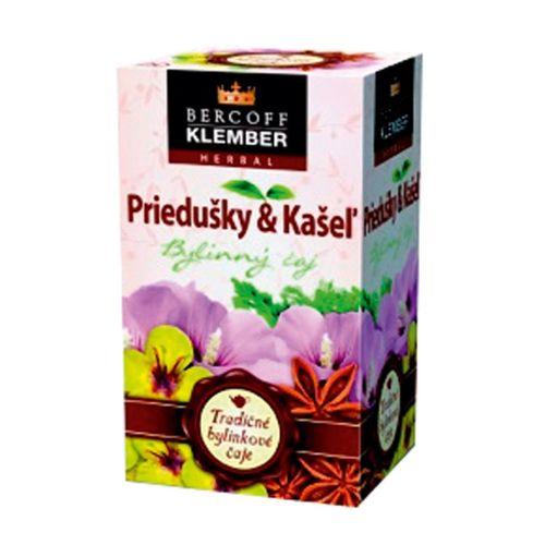 Čaj Klember bylinný Priedušky a Kašeľ 30g