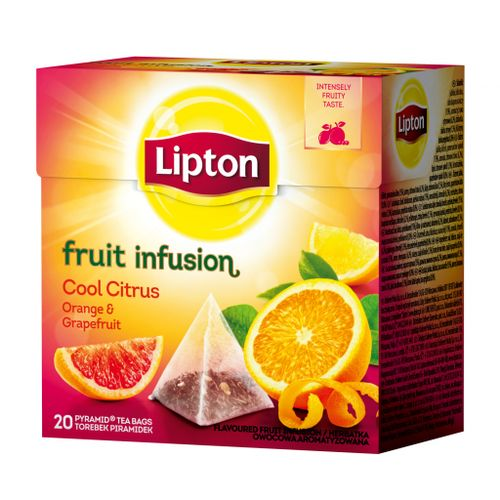 Čaj Lipton Cool Citrus 48g pyramídy