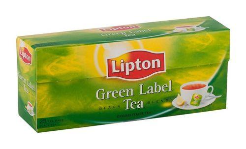 """Čaj Lipton """"green label """", 25 x2 g"""