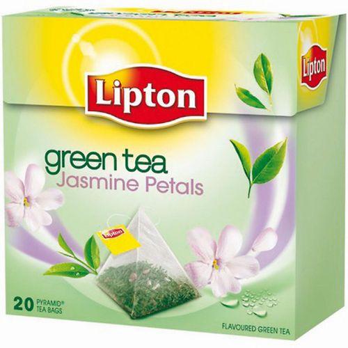 Čaj Lipton zelený Jasmine Petals 36g pyramídy