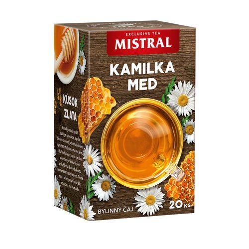 Čaj Mistral bylinný kamilka,med 30g