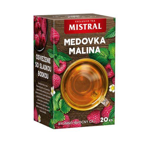 Čaj Mistral bylinný Medovka, mäta a malina 30g