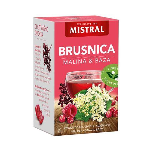 Čaj Mistral ovocný brusnica malina, baza 40g