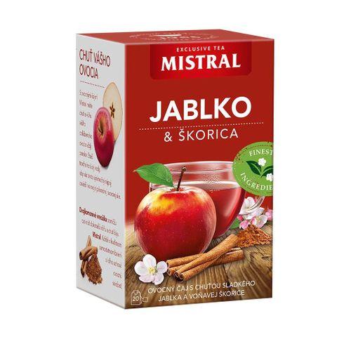 Čaj Mistral ovocný jablko-škorica 50g