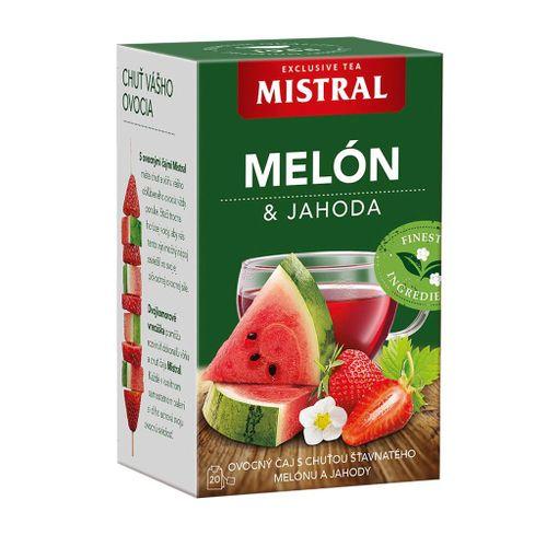 Čaj MISTRAL ovocný melón jahoda 40g