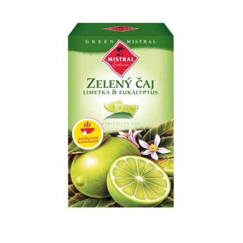 Čaj Mistral zelený limetka - eukalyptus 37,5 g