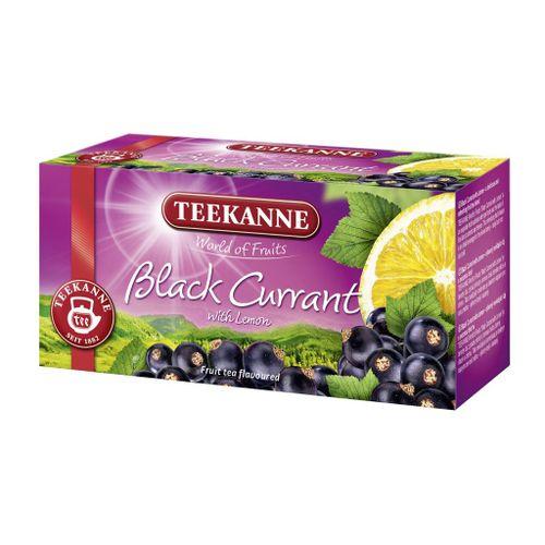 Čaj Teekanne ovocný čierne ríbezle s citrónom 50g