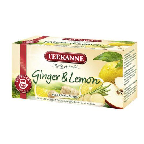 Čaj Teekanne ovocný Ginger Lemon 35g
